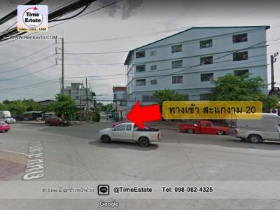 For SaleShophouseRama 2, Bang Khun Thian : [[Price cut, come in, let's see]] Very cheap sale, land with buildings Renovate Apartment Sakae Ngam 20, Rama 2, the building is in the factory